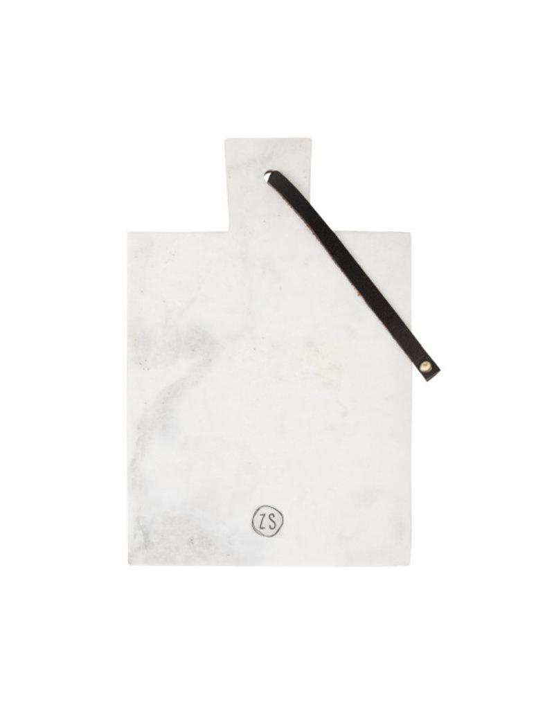 Zusss Plank marmer wit 30 cm