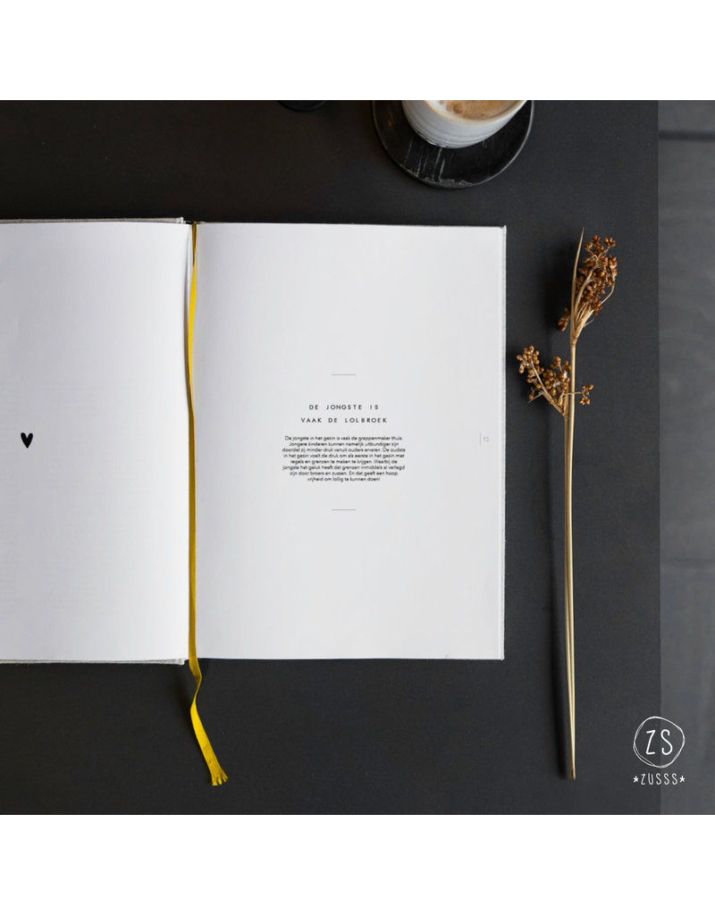 Zusss een écht Zussenboek