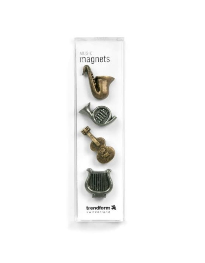 abodee Magneten muziekinstrumenten - 4 stuks