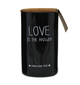 My Flame Lifestyle Geurkaars - 'Love is the answer'