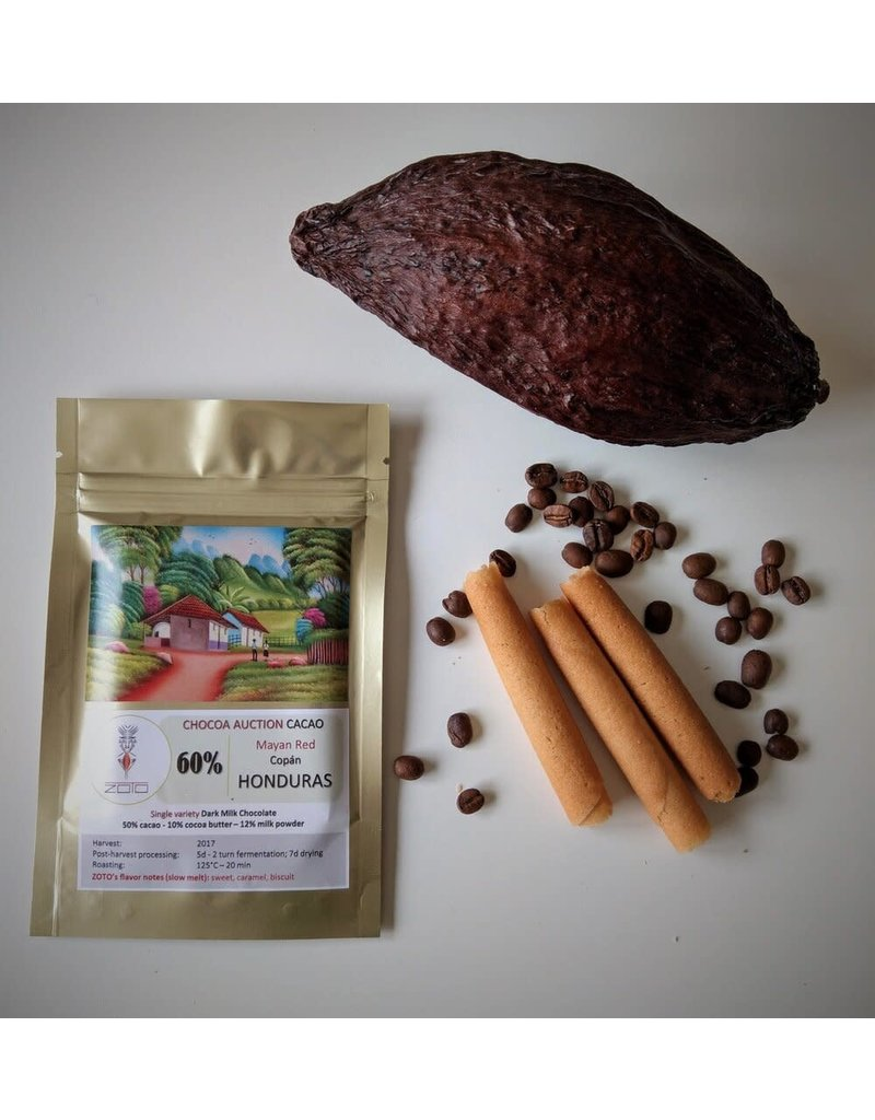ZOTO Honduras - Mayan Red - 60% dark milk chocolate