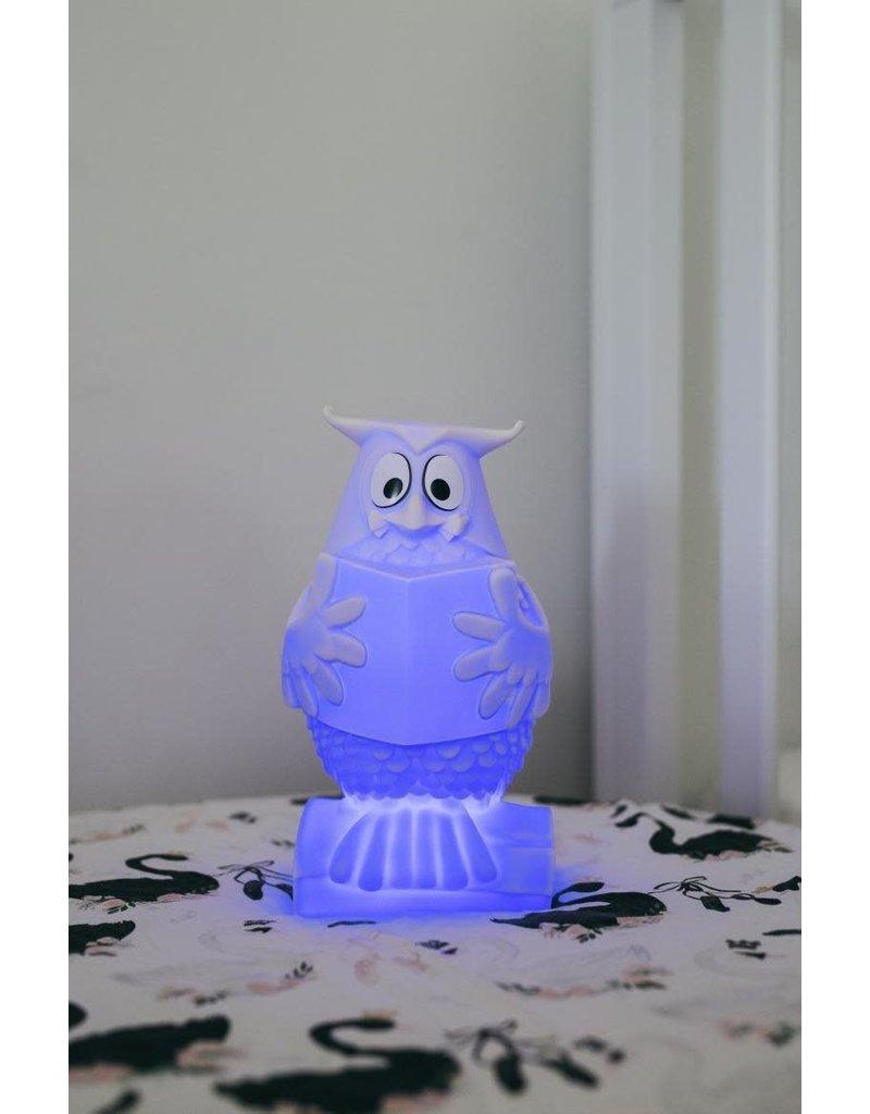 Atelier Pierre Meneer de Uil nachtlampje op USB - 22 cm