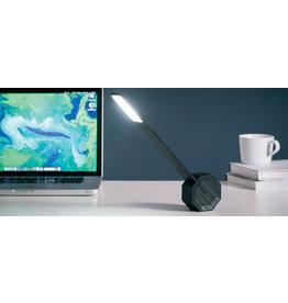 Gingko Octagon bureaulamp LED - zwart