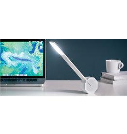Gingko Octagon bureaulamp LED - white