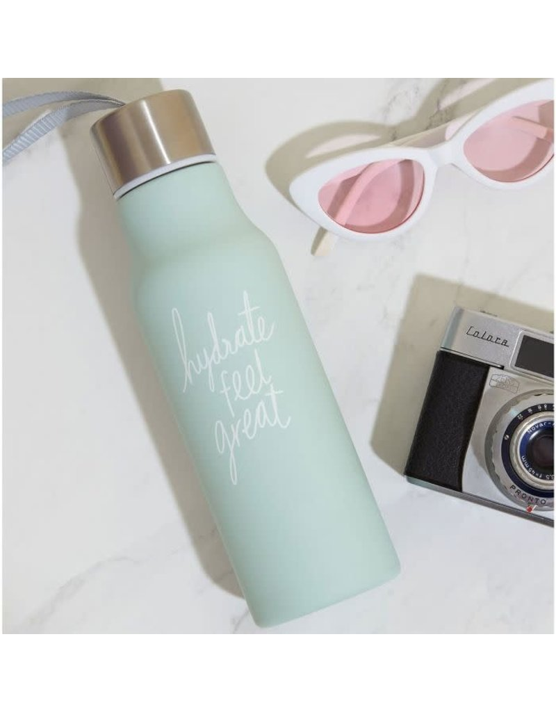 CORTINA Drinkfles - We live like this - 'Hydrate feel great'