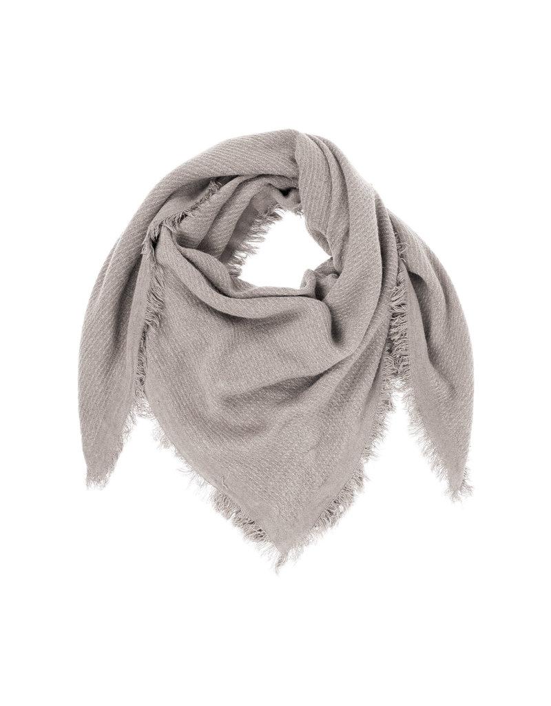Zusss Vierkante sjaal gewafeld krijt