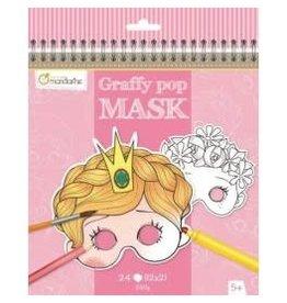 choubidous Set van 24 maskers - meisje