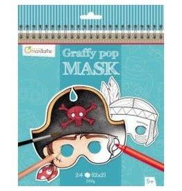 choubidous Set van 24 maskers - jongen