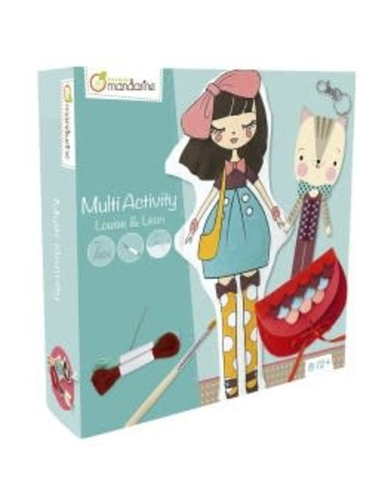 choubidous Multiactivity box, Louise - Leon - 8-12j