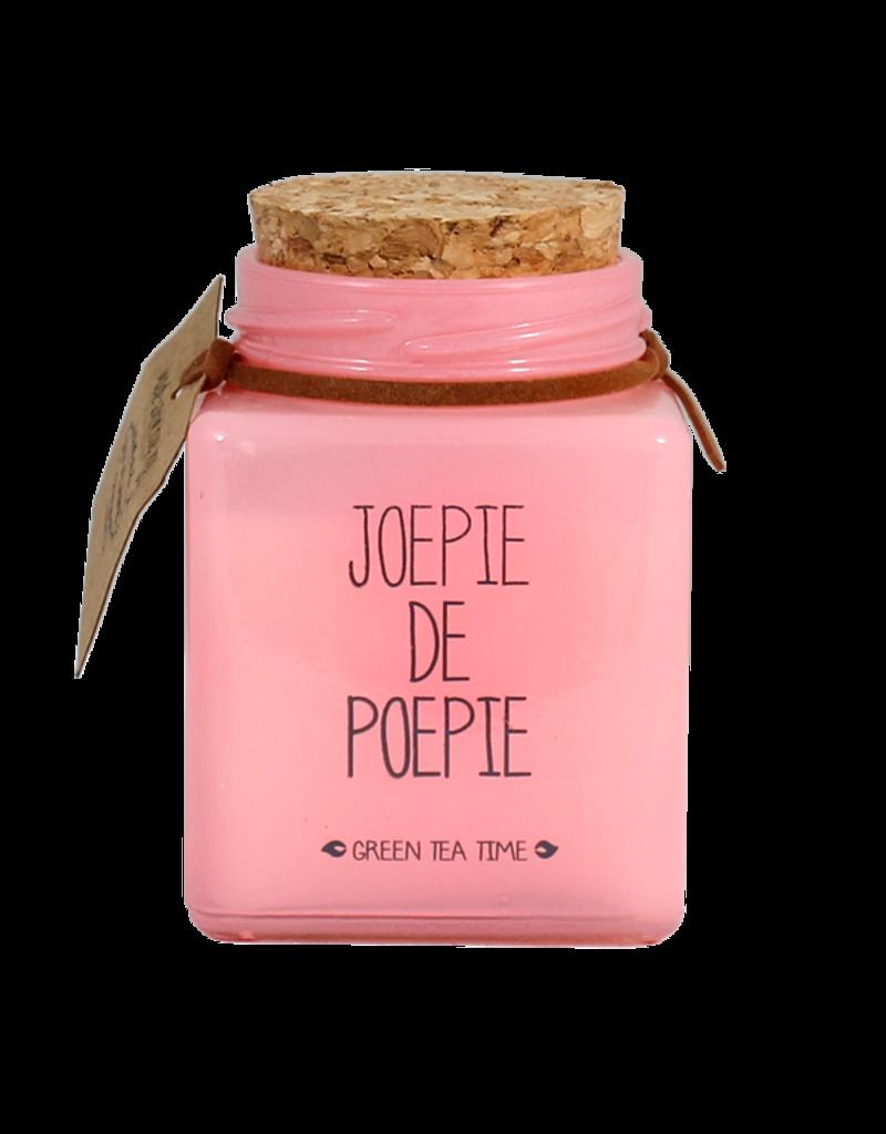 My Flame Lifestyle Geurkaars - 'Joepie de poepie'