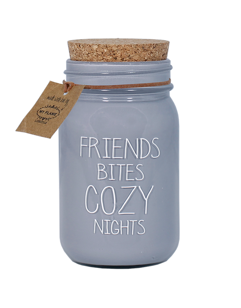 My Flame Lifestyle Geurkaars - 'Friends cozy nights'