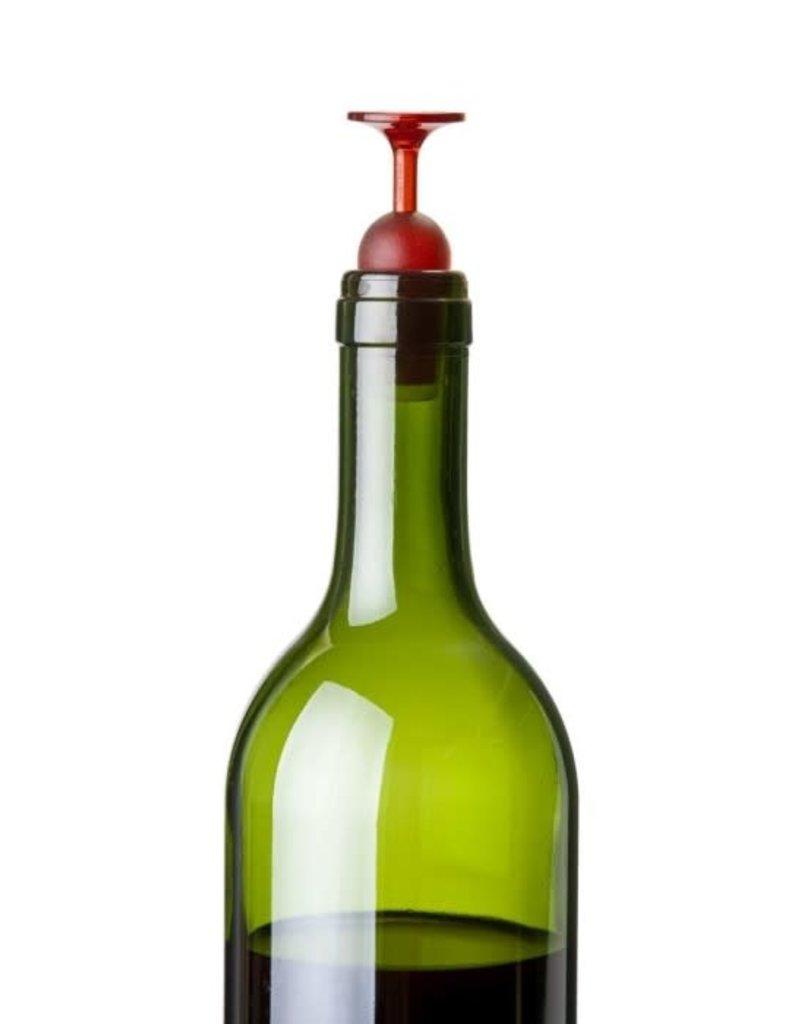 Qualy T-vin flessenstop (set van 2)