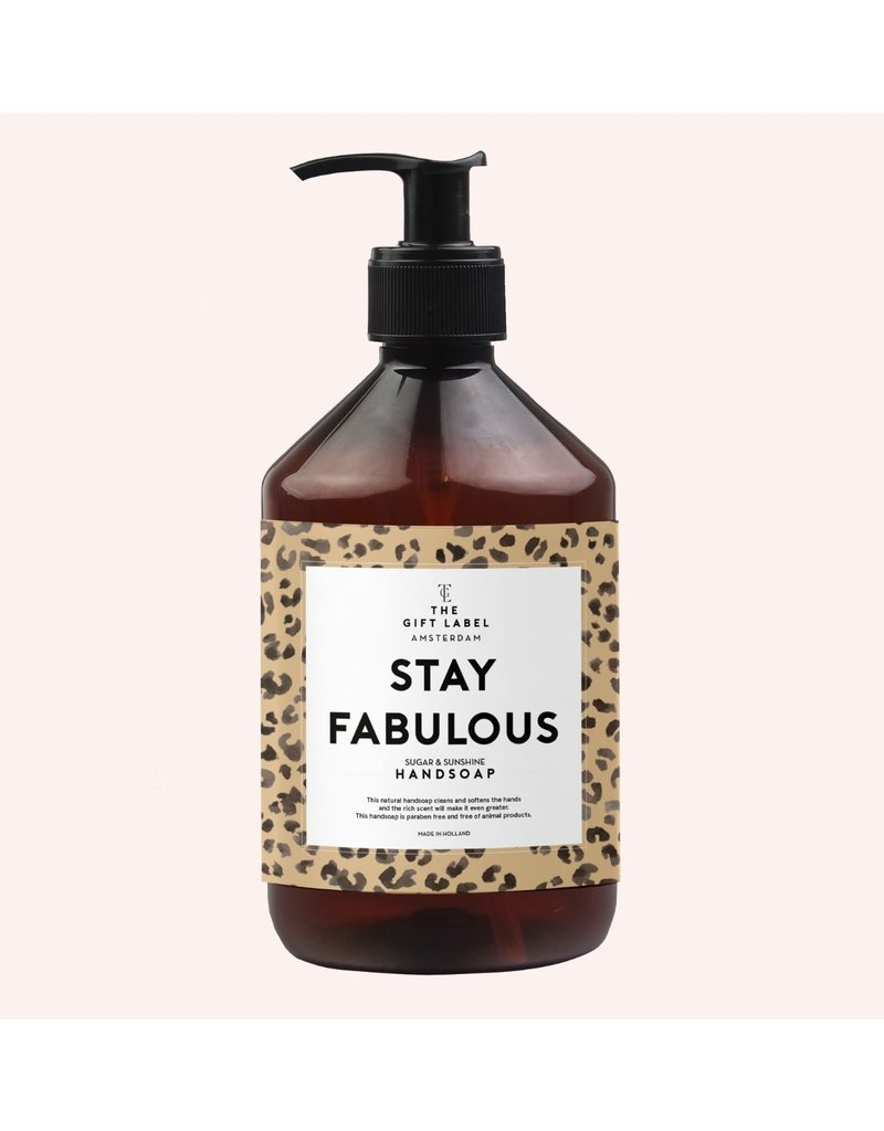 The Gift Label Hand Soap - Stay fabulous - 500 ml