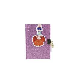 choubidous Dagboek - glitter paars