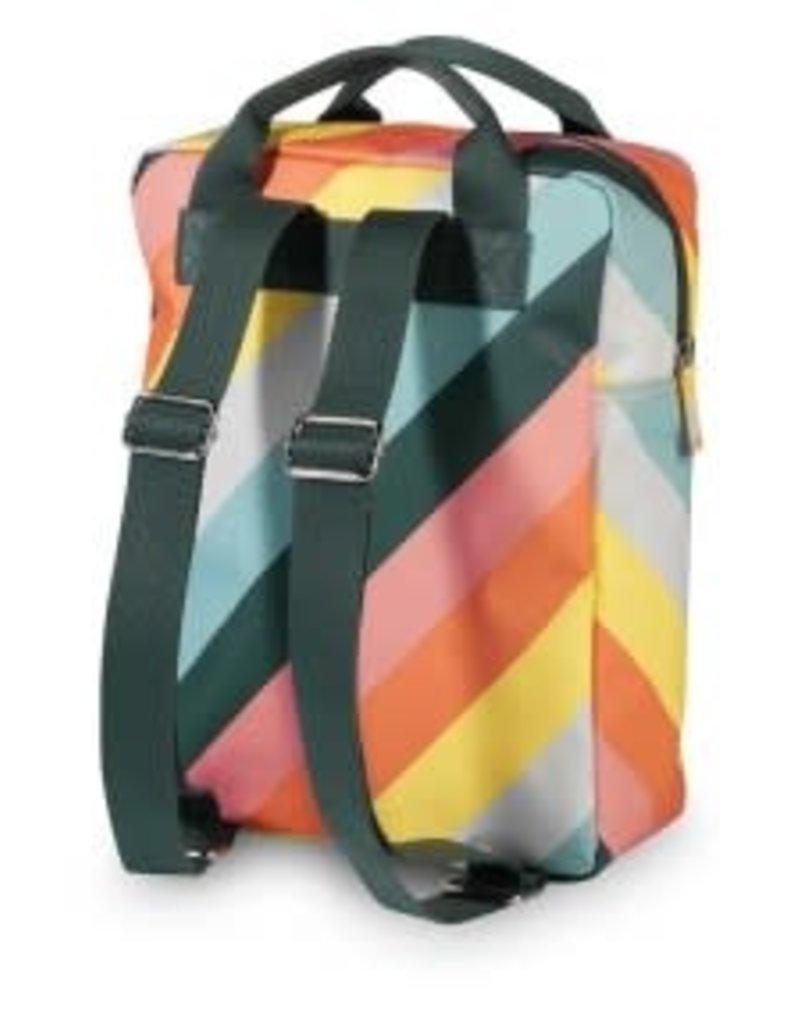 Engel. Rugzak medium 'Stripe rainbow'