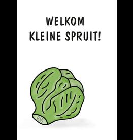 Graag Design Kaartje Graag-Design 'Kleine spruit'