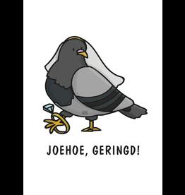 Graag Design Kaartje Graag-Design 'Geringd'