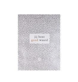 Zusss Geurzakje - wilde bloemen - 'Jij bent goud waard'