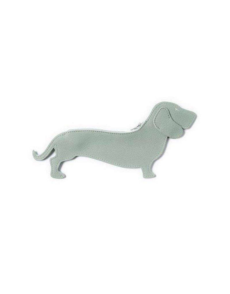 KEECIE Etui, Good Dog, Dusty green