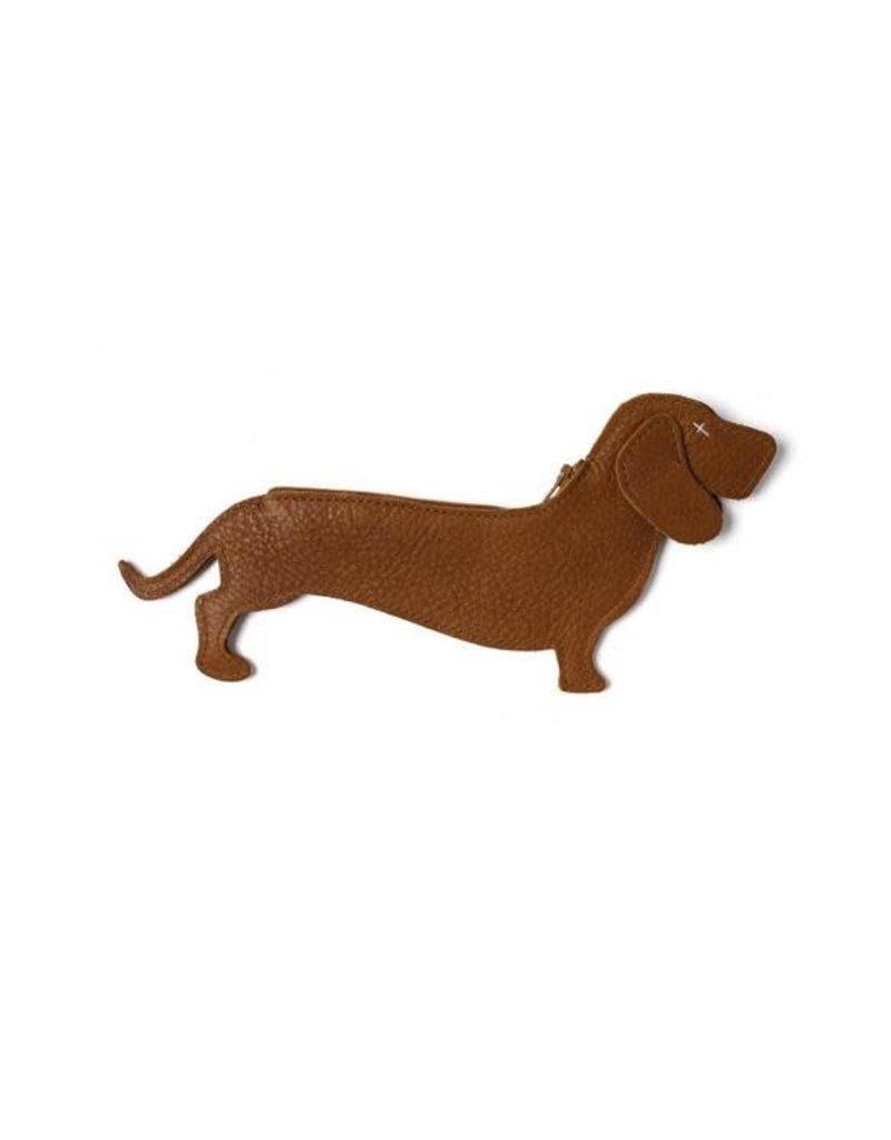 KEECIE Etui, Good Dog, Cognac