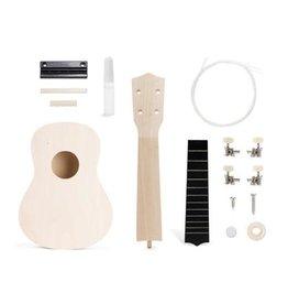 kikkerland 'Maak zelf een ukulele'-set
