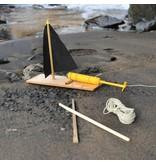 kikkerland Motor voor zelfgebouwde boot