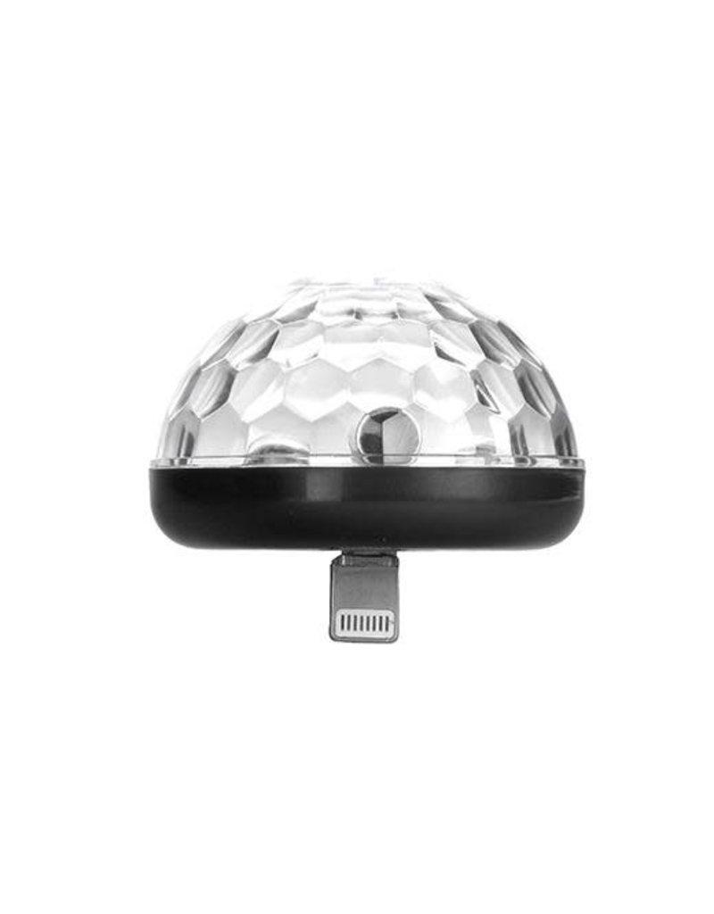 kikkerland IPhone disco-light black