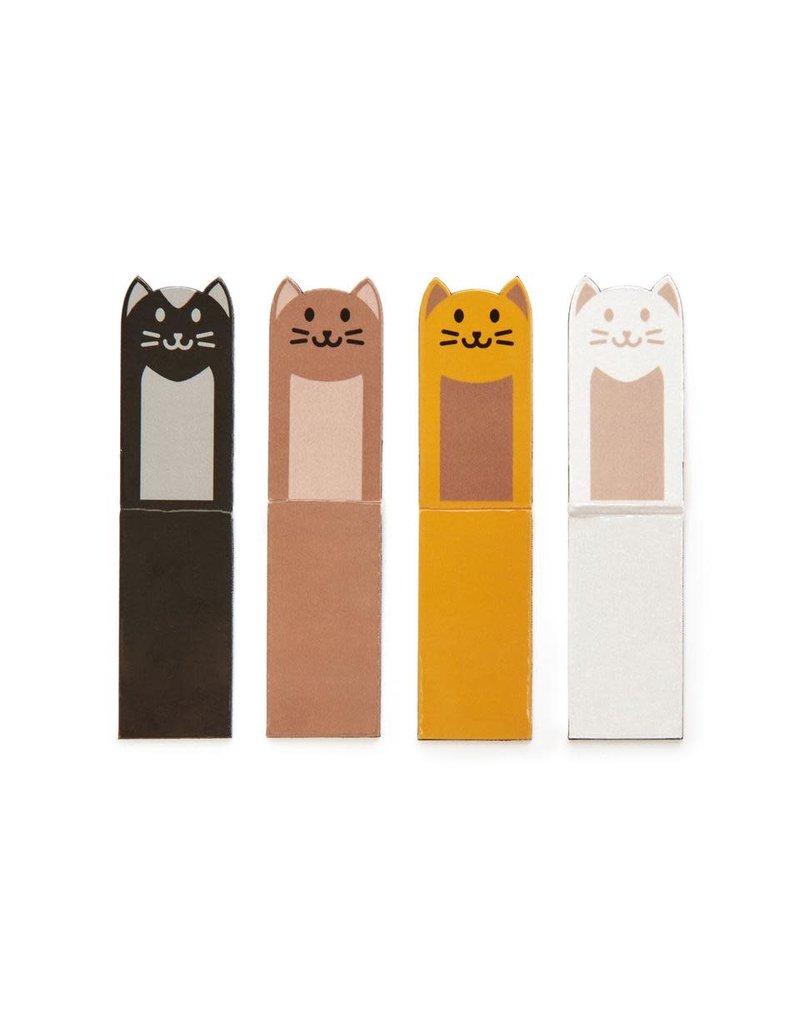 kikkerland Magnetische bladwijzer 'cats'