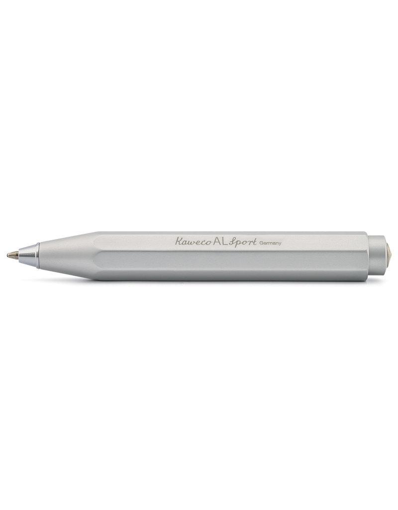 KAWECO Balpen 'Sport Aluminium' - zilver