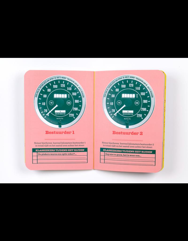 Stratier Auto - reisboekje