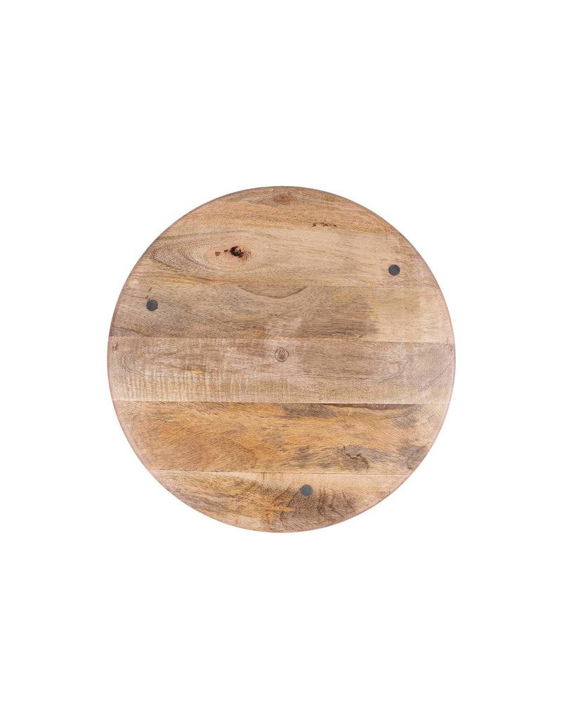 Zusss Houten bord 30 cm mangohout