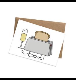 Graag Design Kaartje Graag-Design 'Toast'