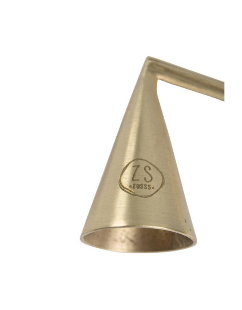Zusss Kaarsendover metaal goud