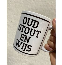 Urban Merch Mok 'Oud, stout en wijs'