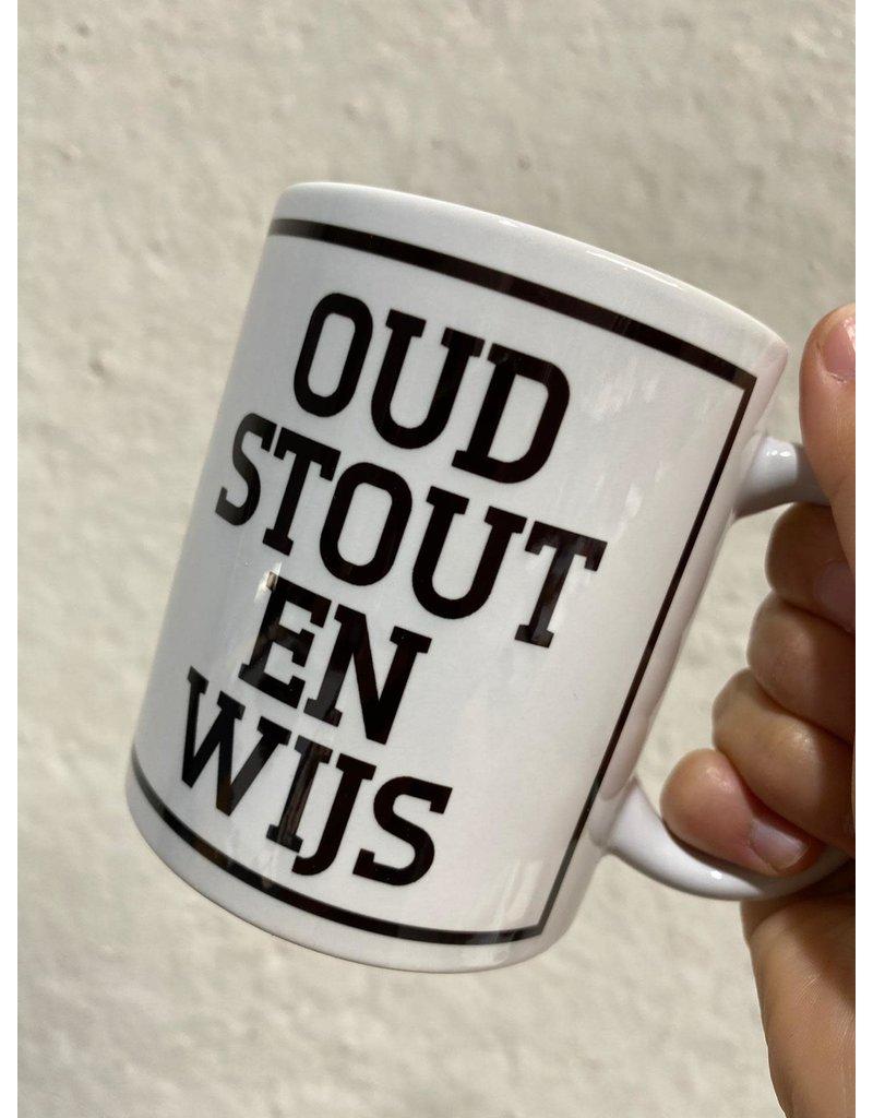 Urban Merch Mok 'Oud, stout en wijs'