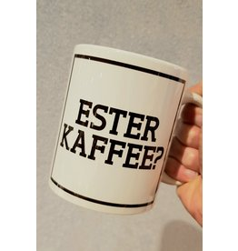 Urban Merch Mok 'Ester kaffee?'