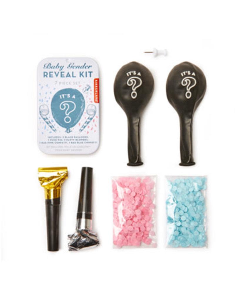 kikkerland Baby gender reveal kit