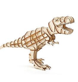 kikkerland T-Rex 3D houten puzzel