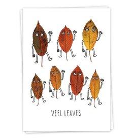 KaartBlanche Kaartje – Veel leaves