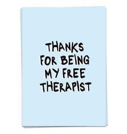 KaartBlanche Kaartje – Free therapist