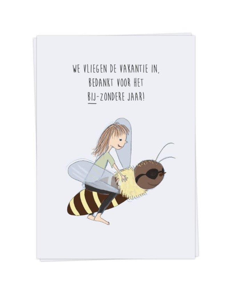 KaartBlanche Kaartje – bijzonder jaar - meisje