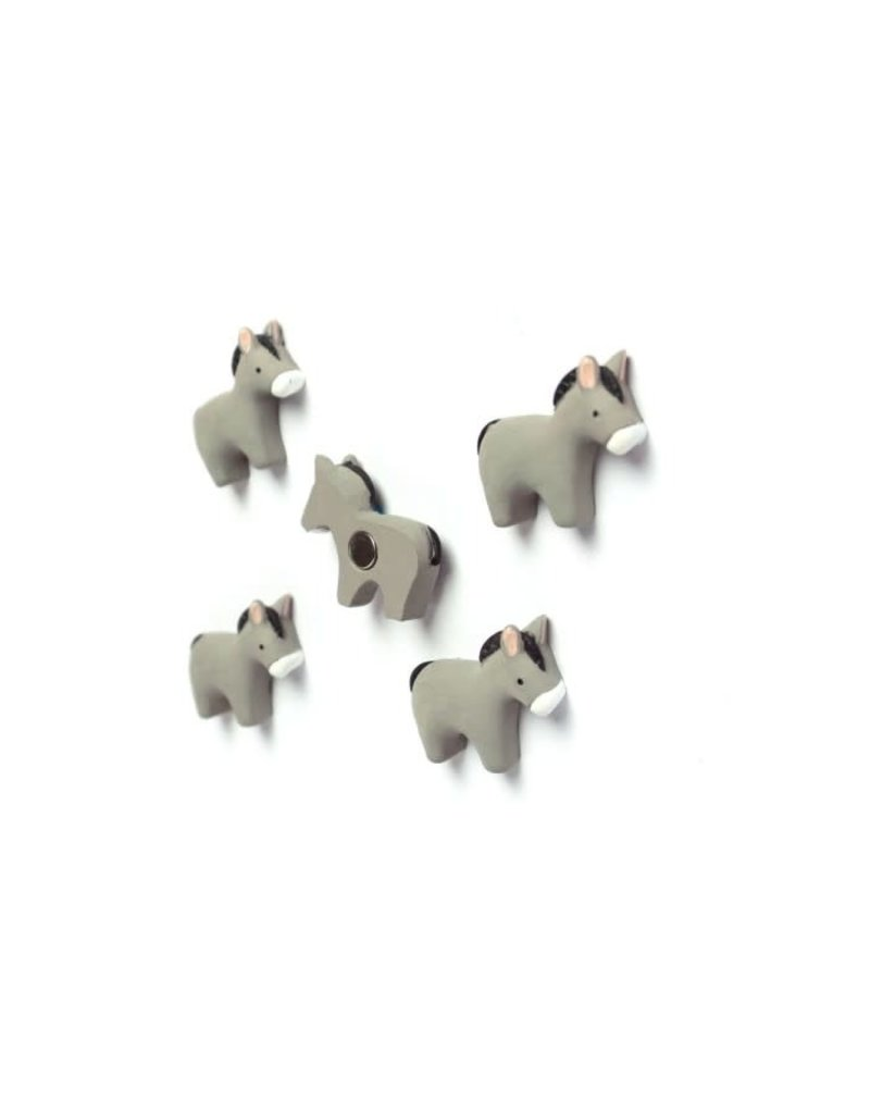 Trendform Magneten 'ezeltjes' - 5 stuks