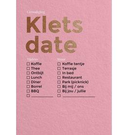 Happy Whatever Happy Invites - 'Klets date'