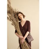 Tinne+Mia Envelope bag Graphic Botanique - chocolate red