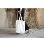 Tinne+Mia Feel Good Tote Bag / Tyvek - Off white
