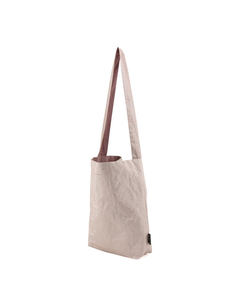 Tinne+Mia Feel Good Tote Bag / Tyvek - Dusty gold