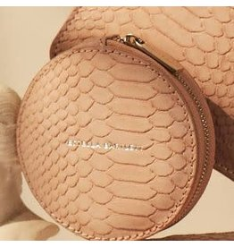 Estella Bartlett Circle Coin Purse - Pink Snake