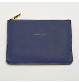 Estella Bartlett Medium Pouch - Navy