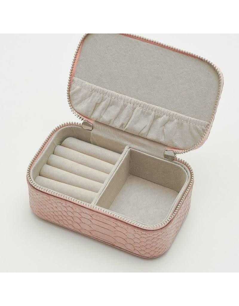 Estella Bartlett Mini Jewellery Box - Pink Snake