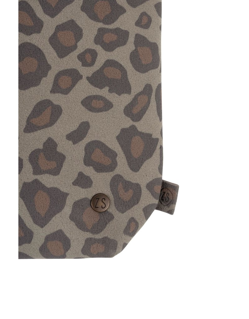 Zusss Basic schoudertas S leopard